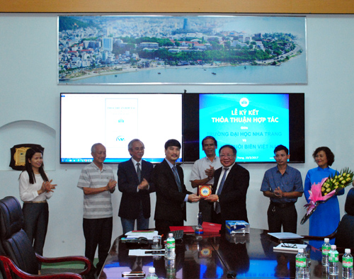 MoU Signing Ceremony with the Vietnam Seaculure Association (VSA)